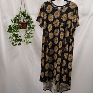 NWOT LuLaRoe Carly Midi Dress